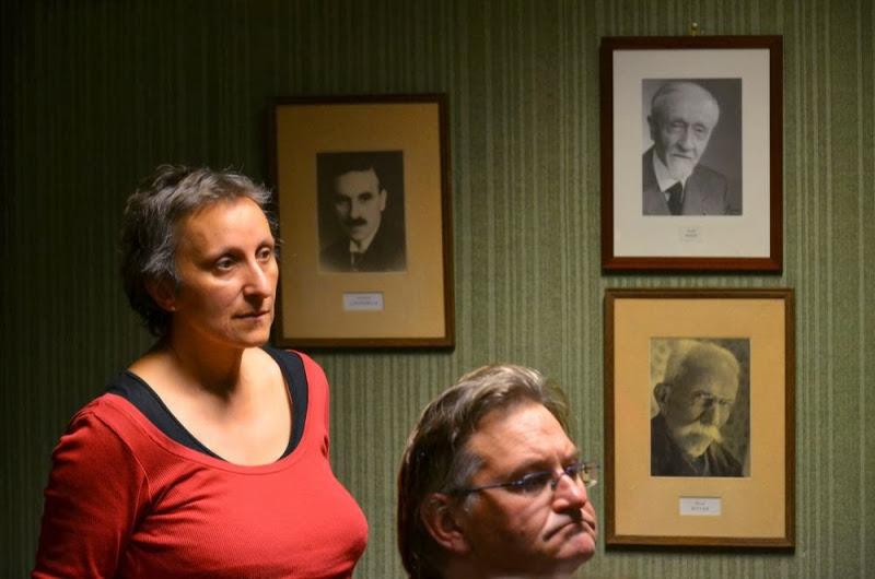 Nathalie Pasternak répond à Volodymyr Poselsky le 27 septembre 2013 à l'Institut d'Études Slaves